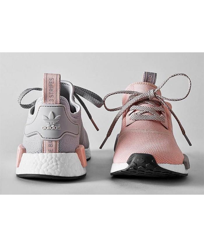 aa1df678ce89 Acheter adidas nmd r1 femme gris et rose original pas cher ici en ligne  avec le prix le plus bas possible. Remises spéciales sur les nouvelles  offres 2018.