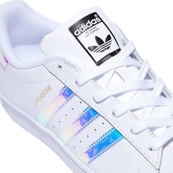Adidas Originals Superstar AQ6278 hologram iridescent neon