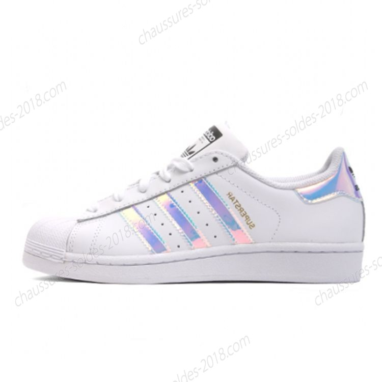 adidas superstar junior bleu