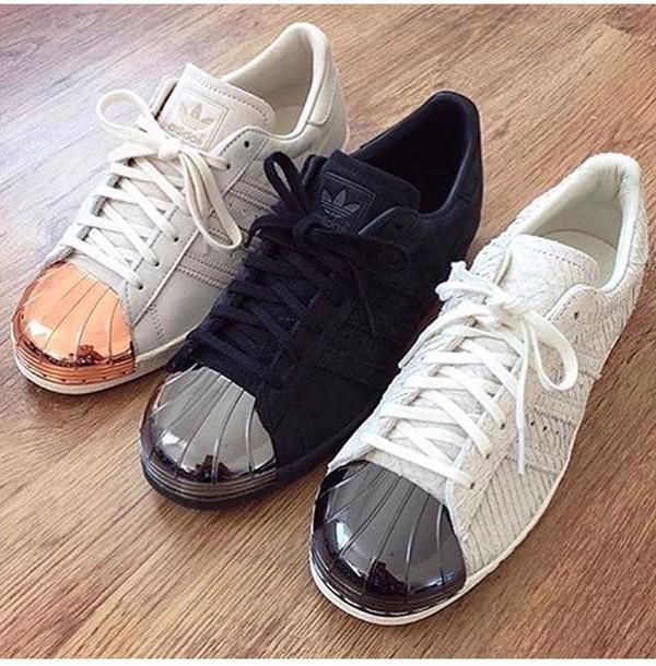 53eac4695ad ... adidas superstar noir et rose gold