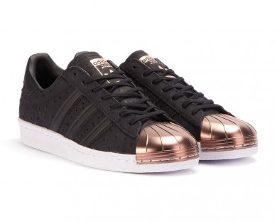 adidas superstar noir rose gold