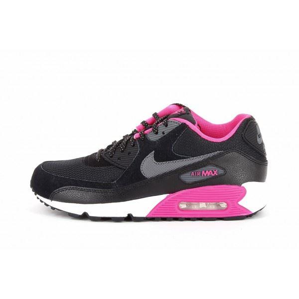 air max rose et noir