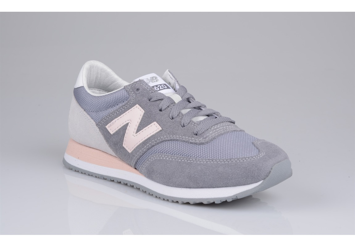 basket new balance rose et gris