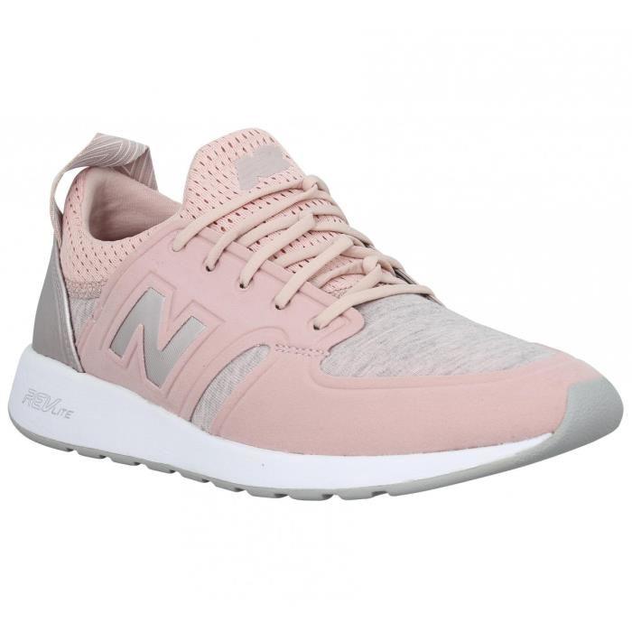 989741413dad Acheter basket new balance grise et rose original pas cher ici en ligne  avec le prix le plus bas possible. Remises spéciales sur les nouvelles  offres 2018.