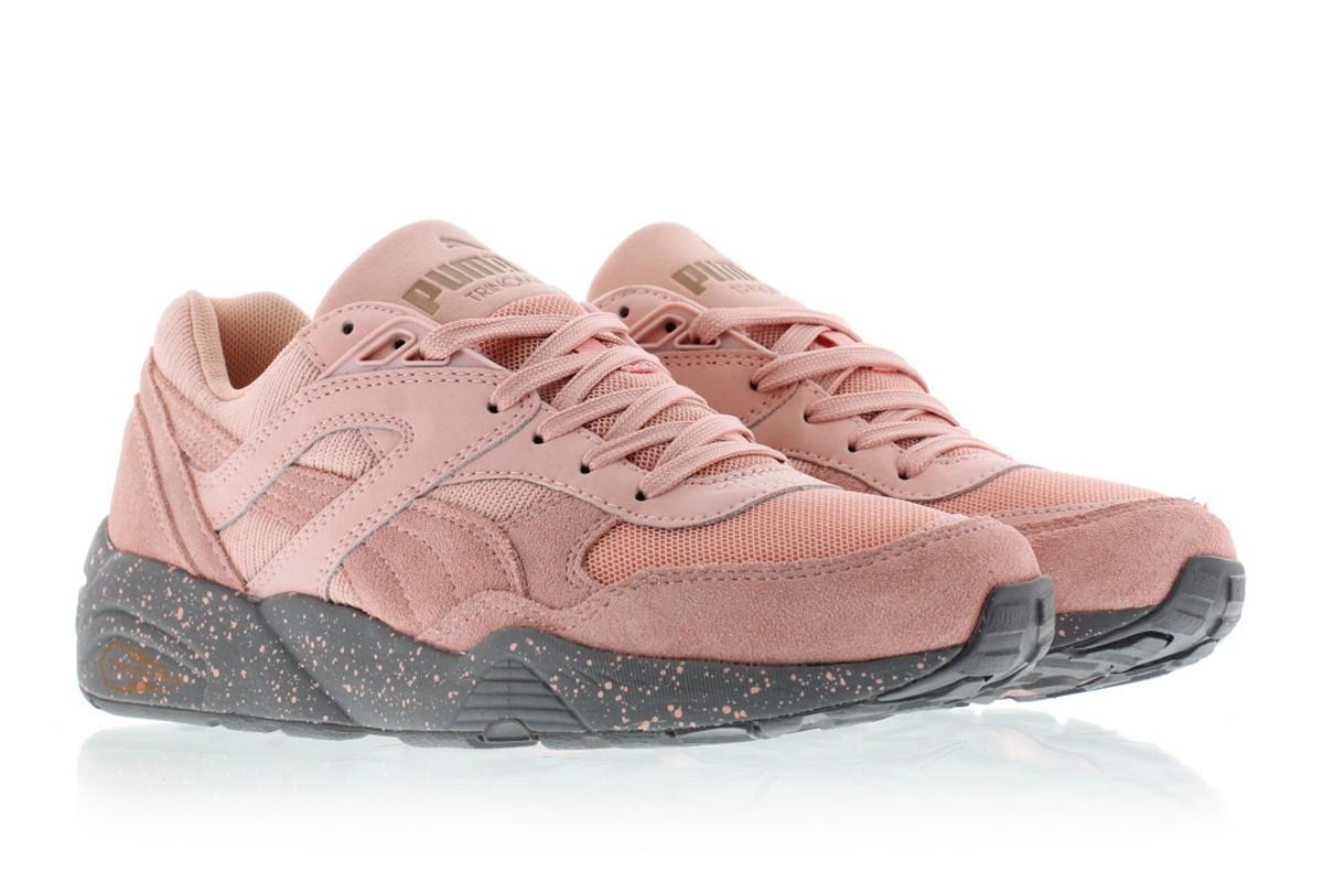 nouveau concept a5ae6 ac0cc puma rose pale femme
