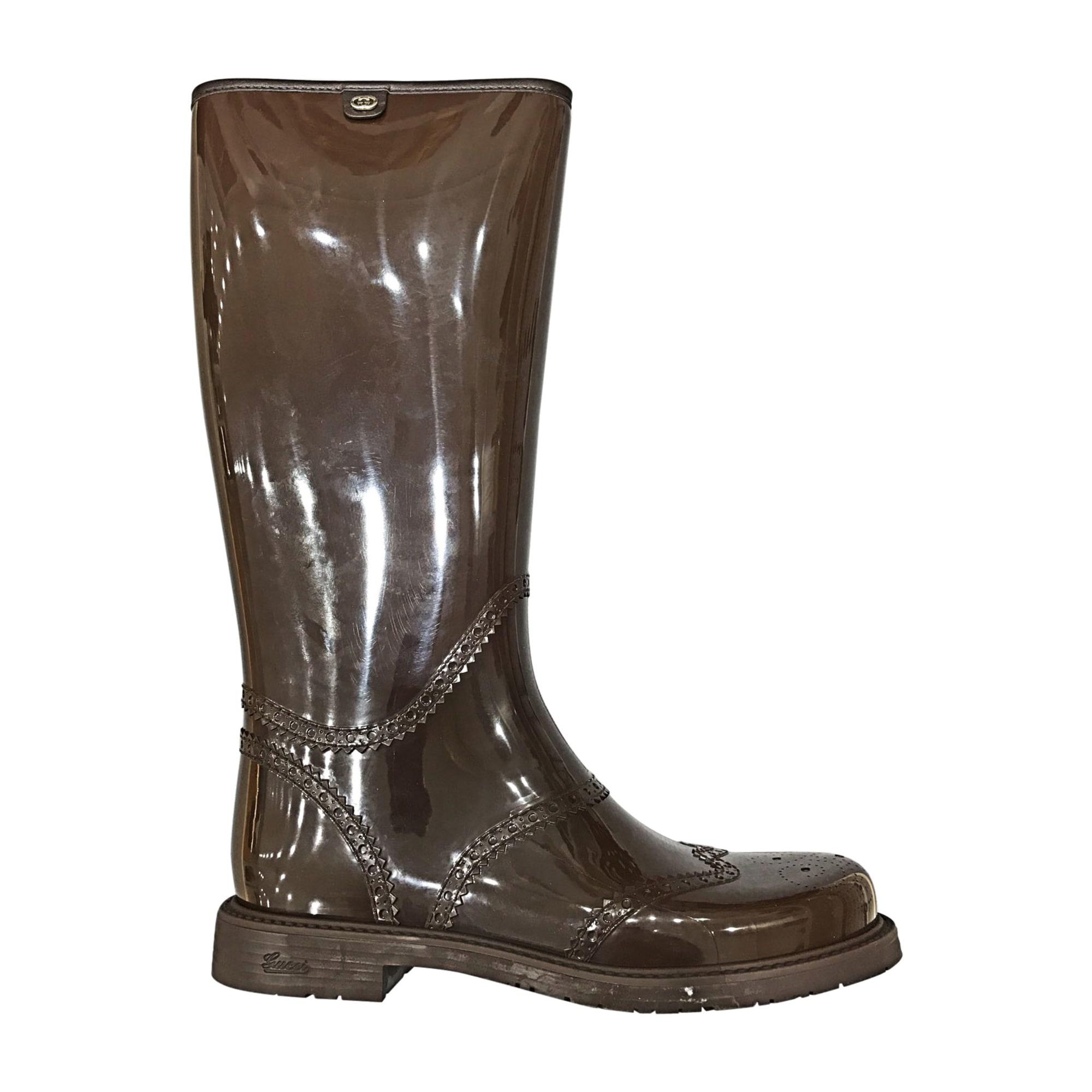 Acheter botte gucci de pluie original pas cher ici en ligne avec le prix le  plus bas possible. Remises spéciales sur les nouvelles offres 2018. 0e1d9531618