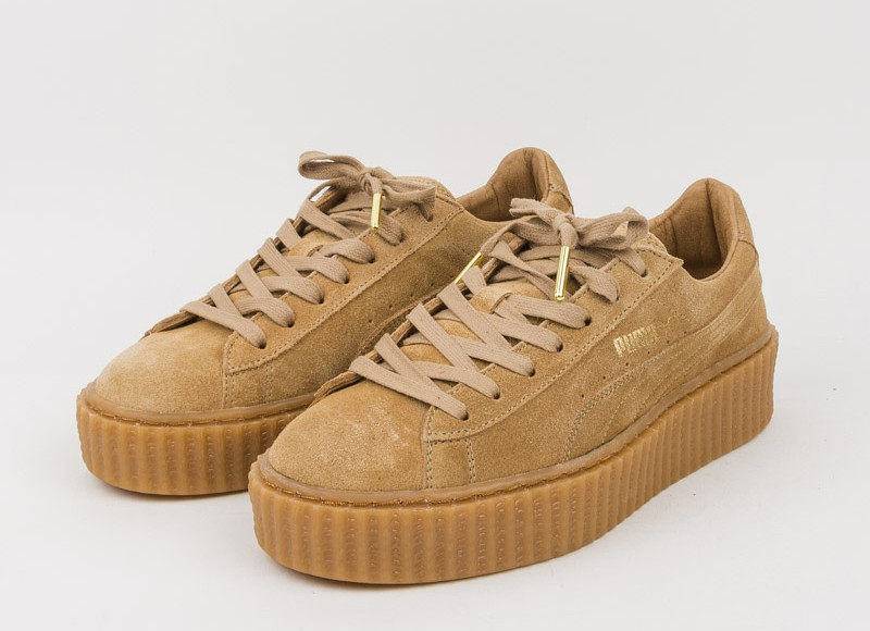 creepers puma beige pas cher
