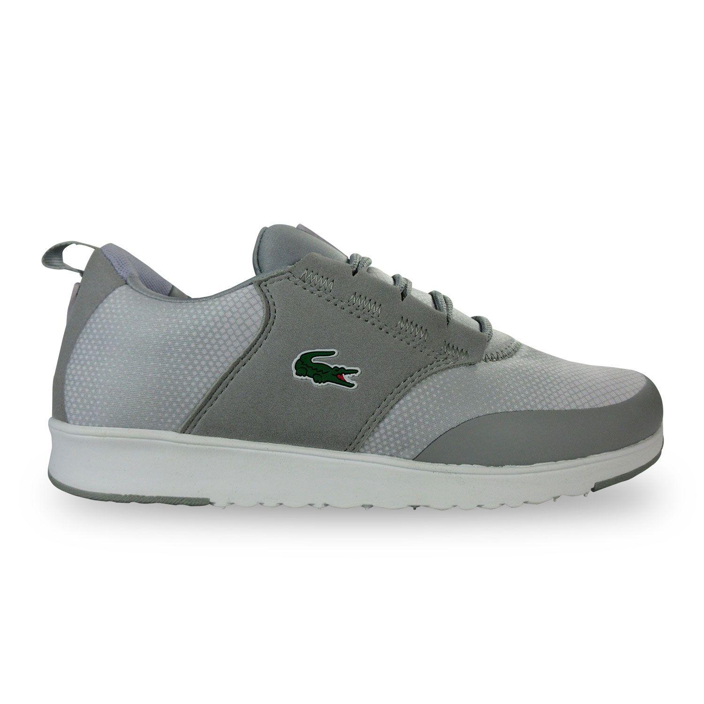 Lacoste Light 01 Gtsp Grise Chaussures Baskets homme