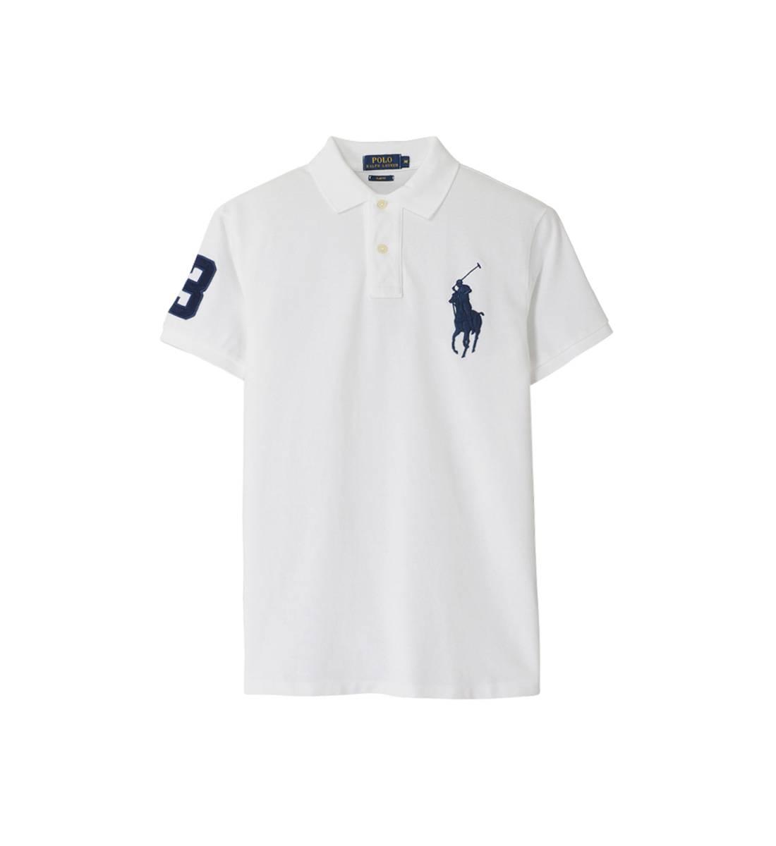 7b3821f7aa1bb Acheter polo ralph lauren blanc homme pas cher original pas cher ici en ligne  avec le prix le plus bas possible. Remises spéciales sur les nouvelles  offres ...